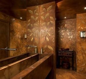 Un bagno rivestito in resina ha come principali caratteristiche la totale impermeabilità e monoliticità
