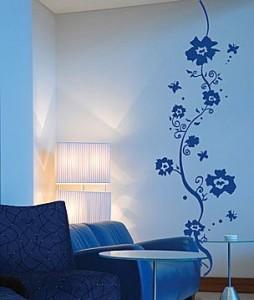 Gli adesivi da parete si attaccano e con  facilità si possono staccare, ogni volta che l'immaginazione ha voglia di altri sogni, motivi grafici o disegni.