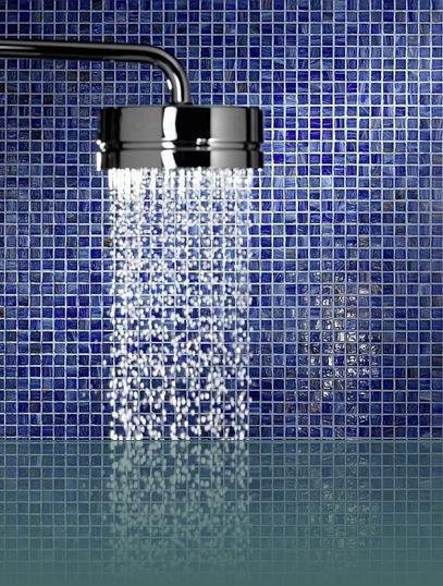 Finiture degli interni la ceramica arredativo design magazine - Piastrelle bagno mosaico doccia ...