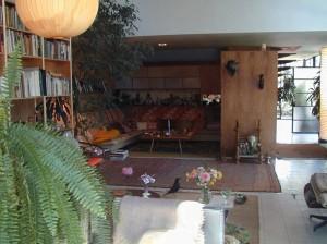 Interni della casa Saarinen - Eames: la House#9.