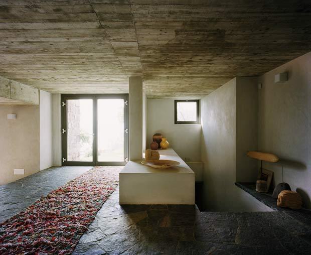 Finiture degli interni la pietra arredativo design magazine - Case in pietra interni ...