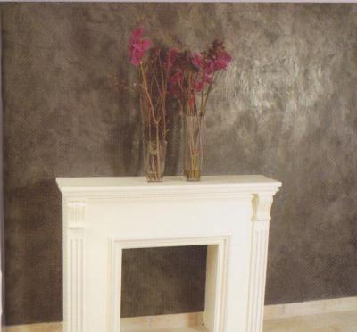 Finiture degli interni le vernici arredativo design - Pitture particolari per interni decorazioni ...