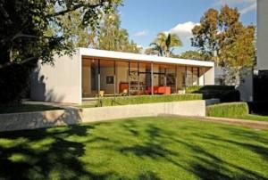 House#9 progettata da Saarinen e Eames.