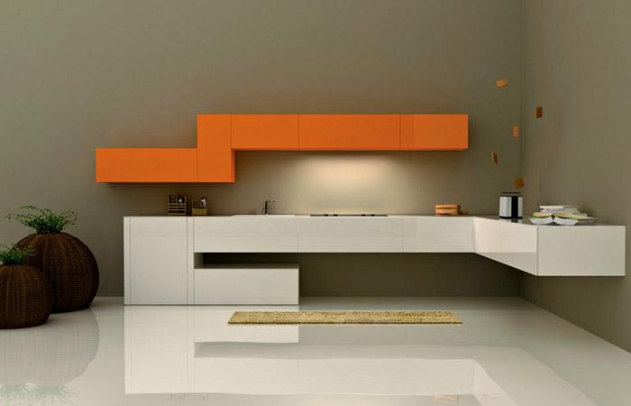 36e8 arredativo design magazine - Cucine sospese da terra ...