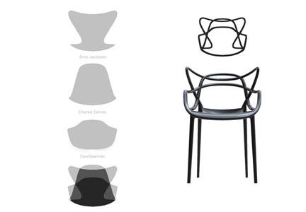 Come nasce la sedia Masters - Kartell (fonte: Arredativo Design Magazine)