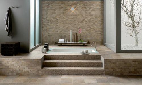 Bagno In Pietra Ricostruita : Finiture degli interni: la pietra arredativo design magazine