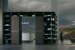 Soluzioni ad angolo e personalizzate sono possibili con i vari componenti di Metropolis.
