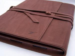 Una custodia Vintage per iPad