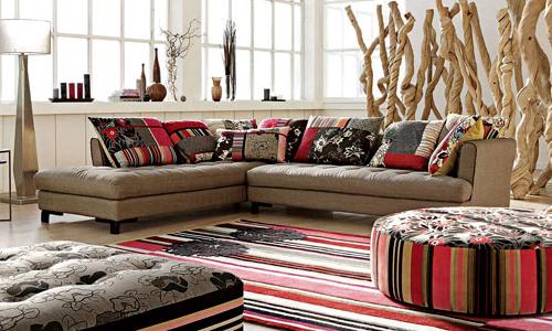 Tessuti per gli imbottiti arredativo design magazine for Tessuti per divani classici