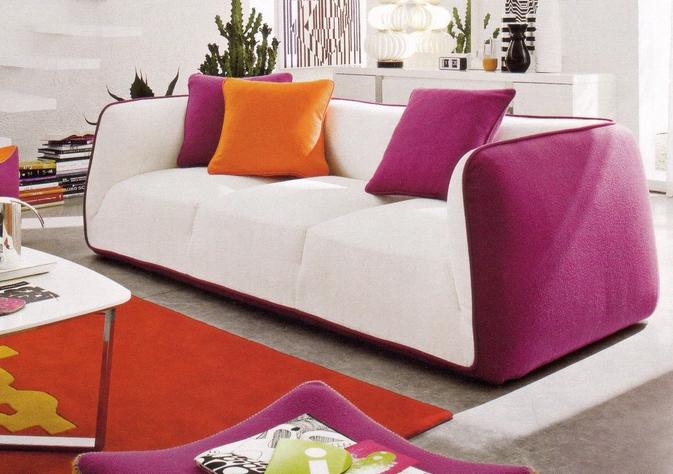 Tessuti per gli imbottiti arredativo design magazine for Divano fucsia