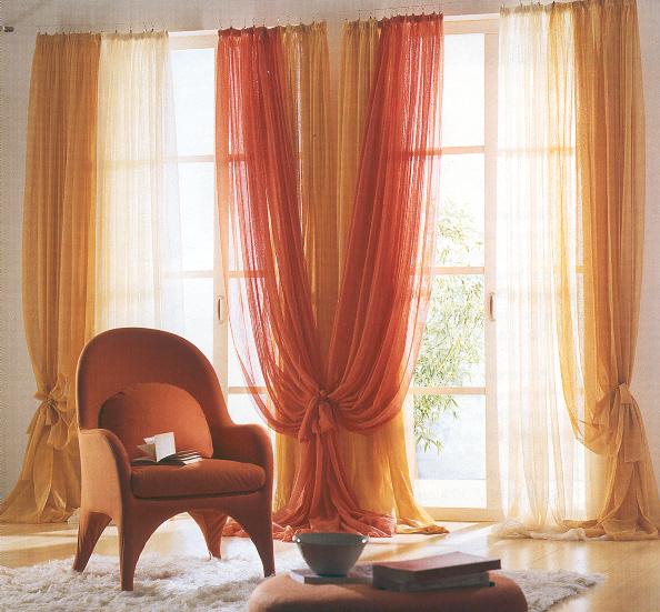 I tessuti tendaggi arredativo design magazine for Tendaggi per soggiorno foto