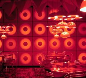 Ancora un angolo della mensa della Spiegel ad Amburgo (1969).