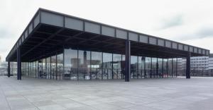 La Neue Nationalgalerie di Berlino ultimo progetto di Mies van der Rohe
