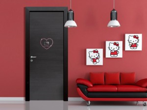 La Porta da interni Hello Kitty.