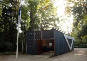 Il padiglione della Finlandia ai Giardini della Biennale di Venezia.
