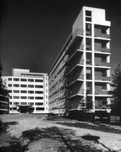 Il sanatorio di Paimio vista dell'esterno.