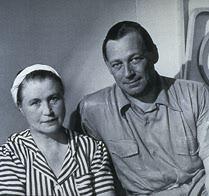 Alvar Aalto con la moglie Aaino Marsio.