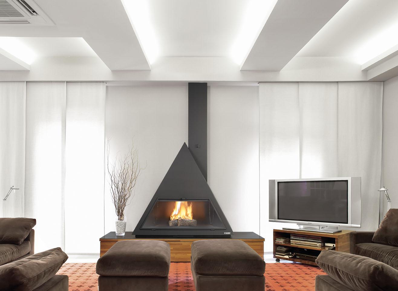 Il focolare caminetti e stufe arredativo design magazine for Living con camino