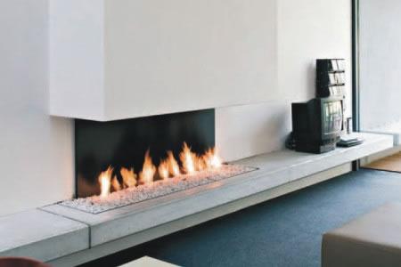 Il focolare caminetti e stufe arredativo design magazine - Chimenea de gas natural ...