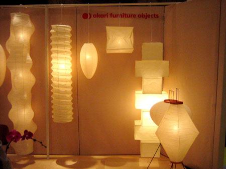 Lampadario Carta Di Riso : Akari lamp arredativo design magazine