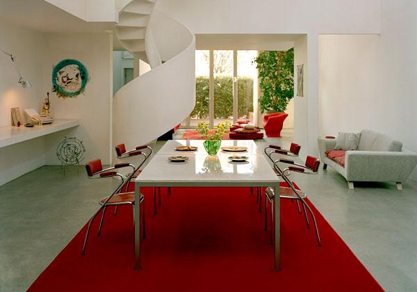 Sala da pranzo il tavolo arredativo design magazine - Salotto con tavolo da pranzo ...