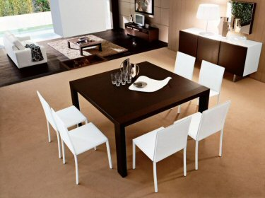 Sala da pranzo il tavolo arredativo design magazine for Arredamento sedie soggiorno