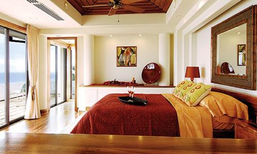 Feng shui disposizione ottimale per il letto arredativo design