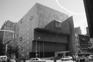 Il Whitney Museum of American Art di New York.