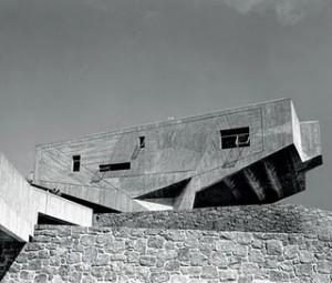 Il Begrisch Hall progettato da Marcel Breuer.