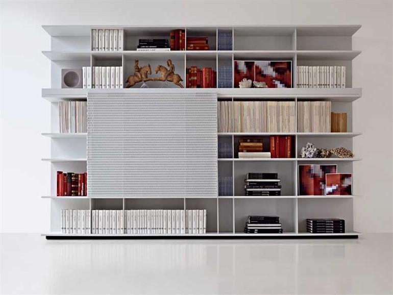 In soggiorno: mobili contenitori aperti - Arredativo Design Magazine
