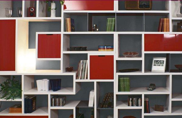 In soggiorno mobili contenitori aperti arredativo design magazine - Librerie componibili ikea ...