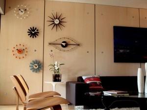 Serie di orologi da parete di George Nelson.