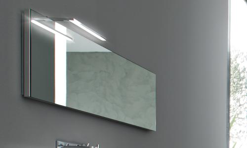Elle nuova lampada led per il bagno arredativo design - Specchio leroy merlin ...