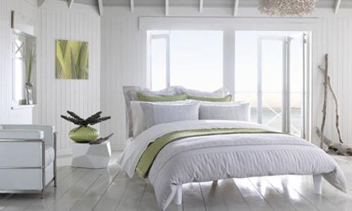 Camera da letto in colori neutri. - Arredativo Design Magazine