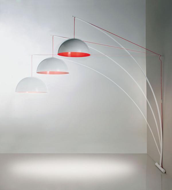 Lampada Bow di V.Connetti & V12 per Italy Dream Design