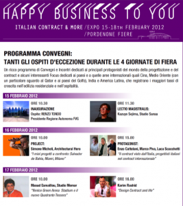 i Protagonisti degli Eventi Happy Business To You