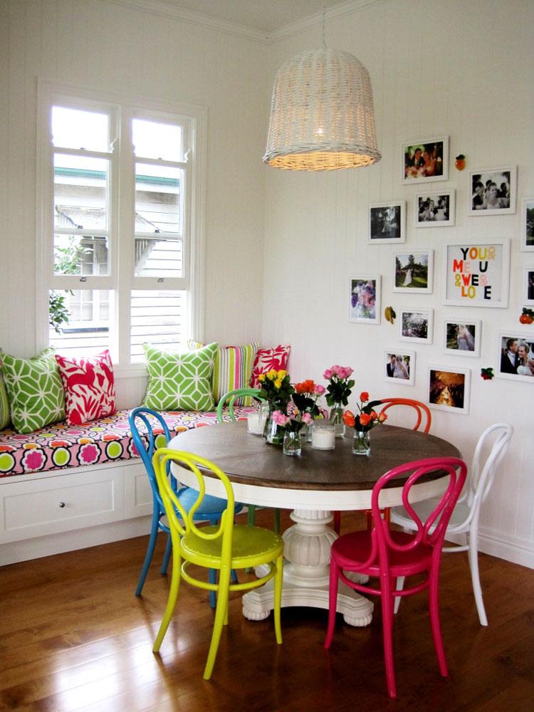 Colori vivaci in stile vintage arredativo design magazine - Colori sala da pranzo ...