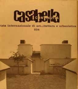 Casabella con in copertina casa Arosio ad Arenzano.