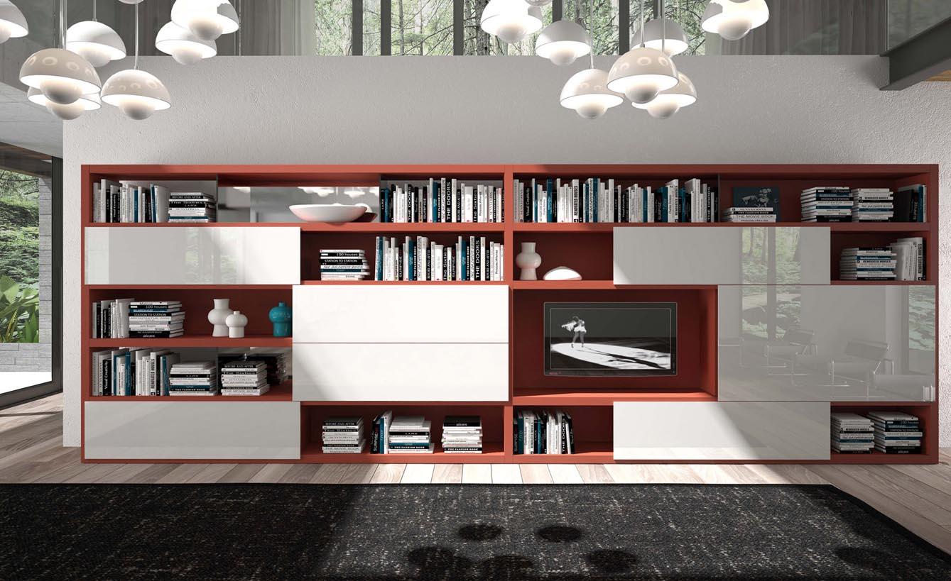 Soggiorno: mobili contenitori chiusi - Arredativo Design Magazine