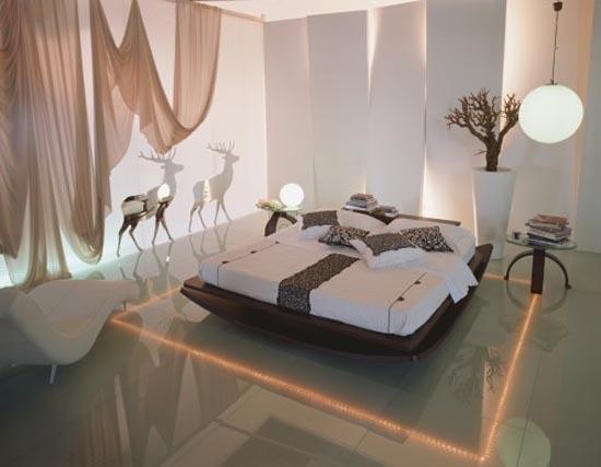 Luci: idee per la camera da letto arredativo design magazine