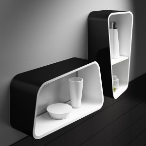 Regia presenta il nuovo sgabello pensile tivu for Sgabello bagno design