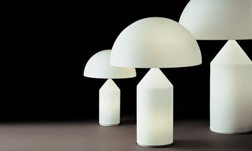 Atollo arredativo design magazine - Lampada da tavolo di design ...