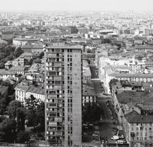 Le torre al parco di  via revere a  Milano.