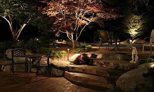 Outdoor consigli per illuminare il giardino arredativo - Illuminare il giardino ...