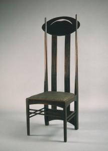 Charles Rennie Mackintosh per la sala da Pranzo delle sale da tè Argyle Street. Foto da archivio Hunterian Art Gallery , University of Glasgow, in Scozia.