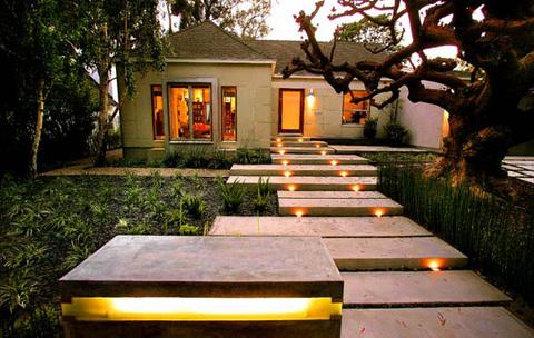 Outdoor consigli per illuminare il giardino arredativo design