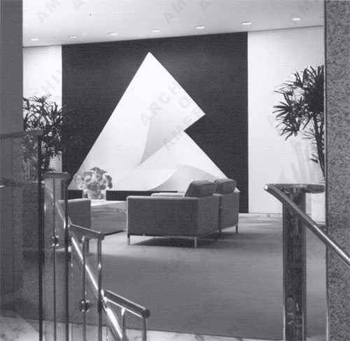 Interni per la southeast bank (miami, fl) della Smithsonian archives of american art. (http://thesubjectofplace.wordpress.com)