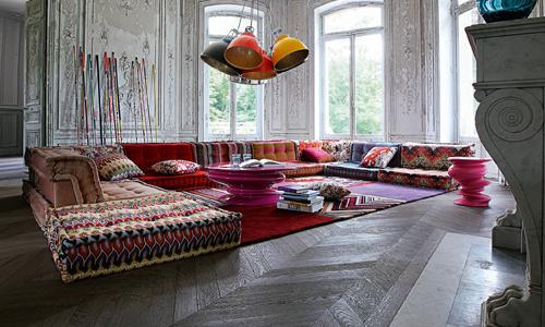 Mah jong in missoni home arredativo design magazine - Mah jong divano ...