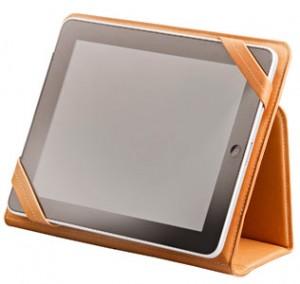 In una versione, l'apertura ad agenda e copertina flessibile, permette di utilizzare il tablet in due diverse inclinazioni per scrivere, fare presentazioni o videochiamate.