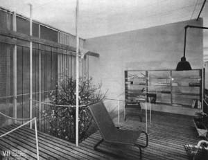 Soggiorno per Villa , 1940 - per la VII Triennaledi Milano (fonte: www.spazioldo.com)